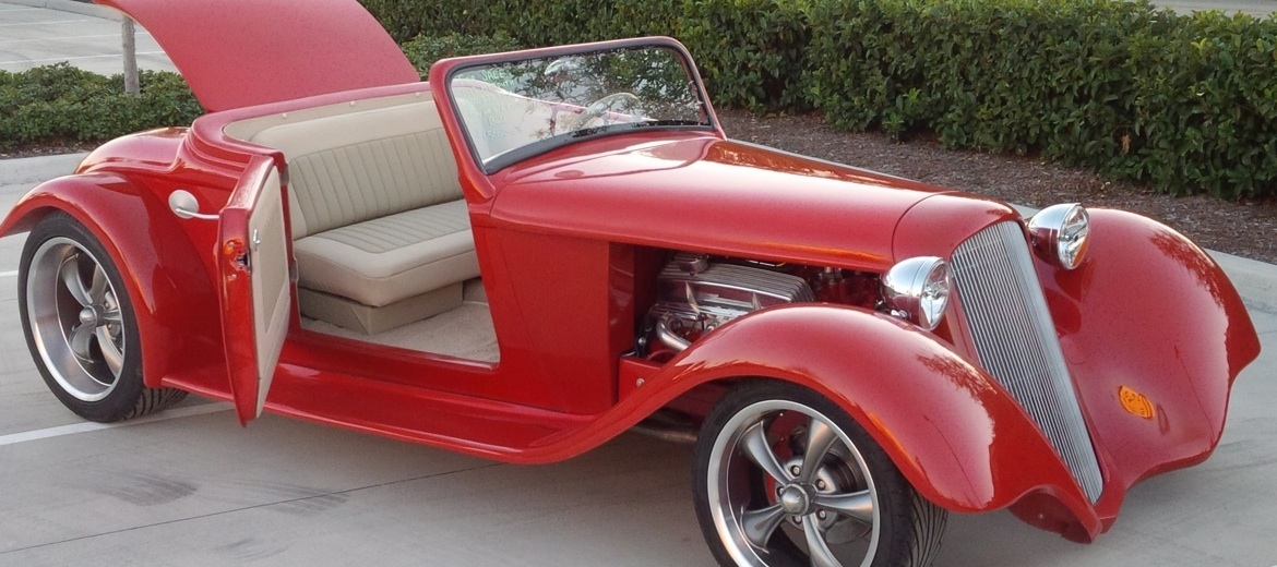 Custom 1933 Plymouth Coupe and Roadster Bodies - Custom 33